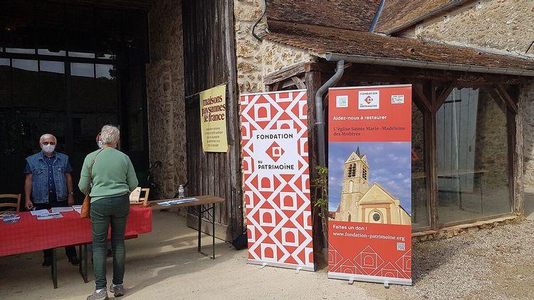 Mobilisation pour l'église Sainte-Marie-Madeleine des Molières