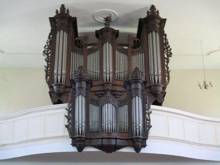 orgue de l'église saint-martin d'ebersheim
