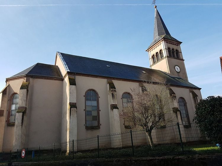 Eglise de Rémeling en Moselle