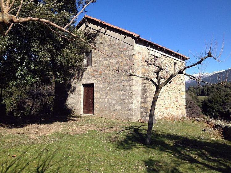 Restauration de la chapelle Sainte-Anne de Carbuccia en Corse-du-Sud