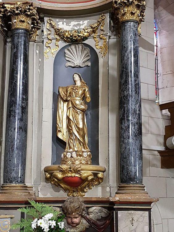 Retable de l'église d'Esvres-sur-Indre