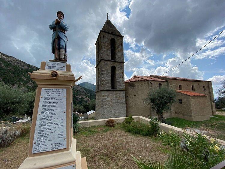 Eglise San-Quilico en Corse-du-Sud