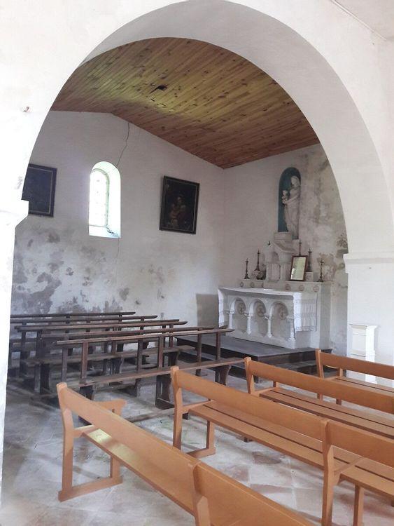 Nef - église Saint-Barthélemy de Tersac