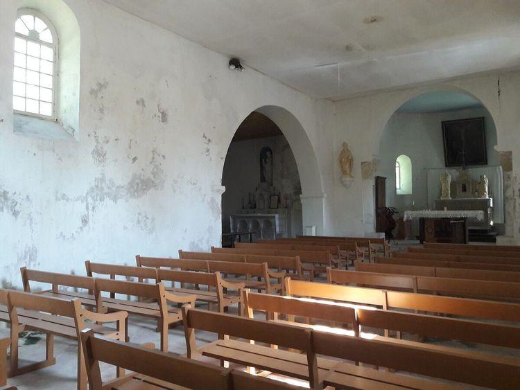 Intérieur église Saint-Barthélemy de Tersac (2)