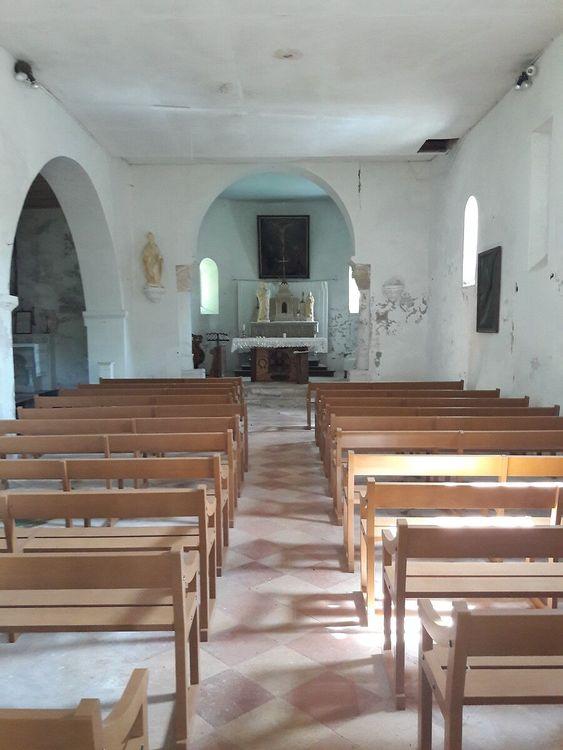 Intérieur église Saint-Barthélemy de Tersac