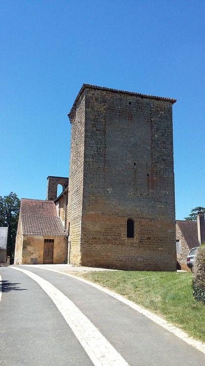 Dos église Sainte-Marie