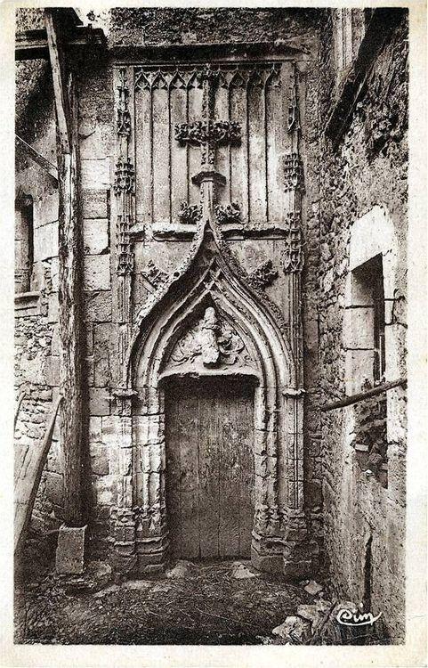 Photo ancienne de la porte