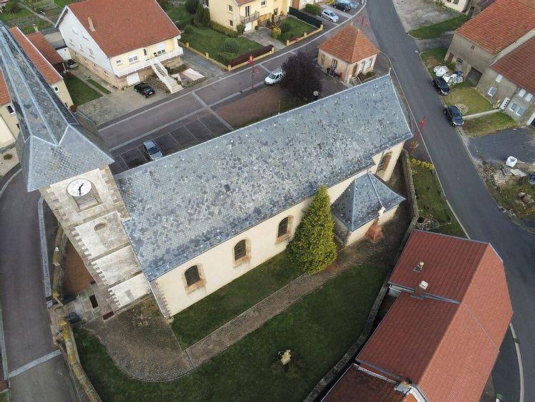 Eglise Saint-Martin de Dolving en Moselle