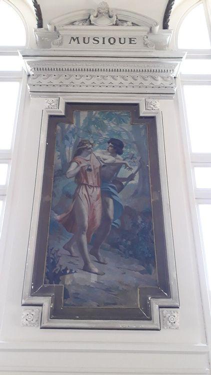 Peintures de l'Opéra de la Comédie