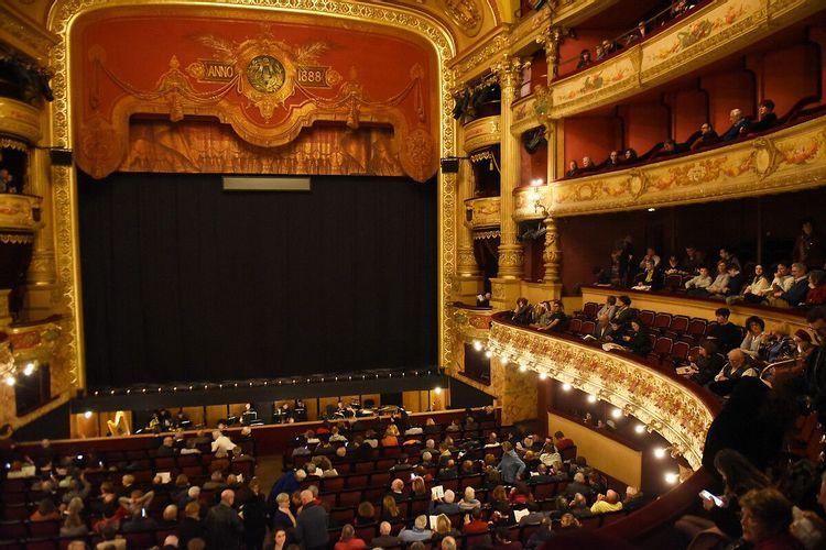 Peinture de l'Opéra de la Comédie