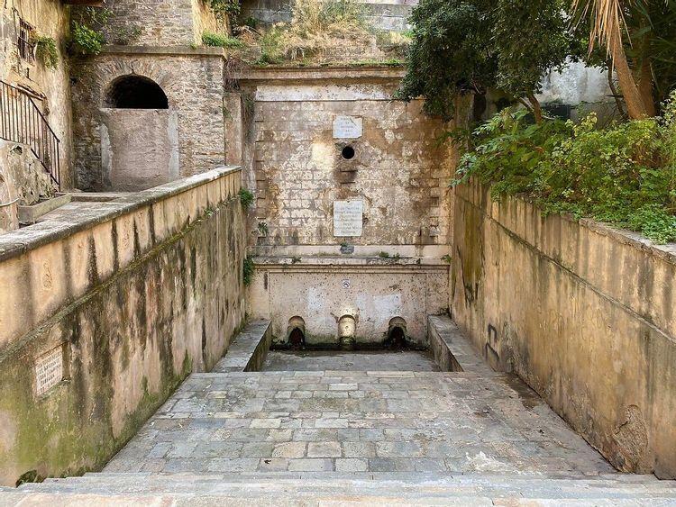 Fontaine des Jésuites à Bastia