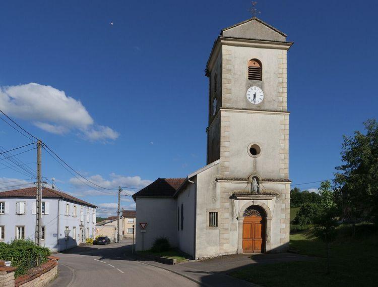 Chapelle Saint-Dominique à Avillers dans les Vosges