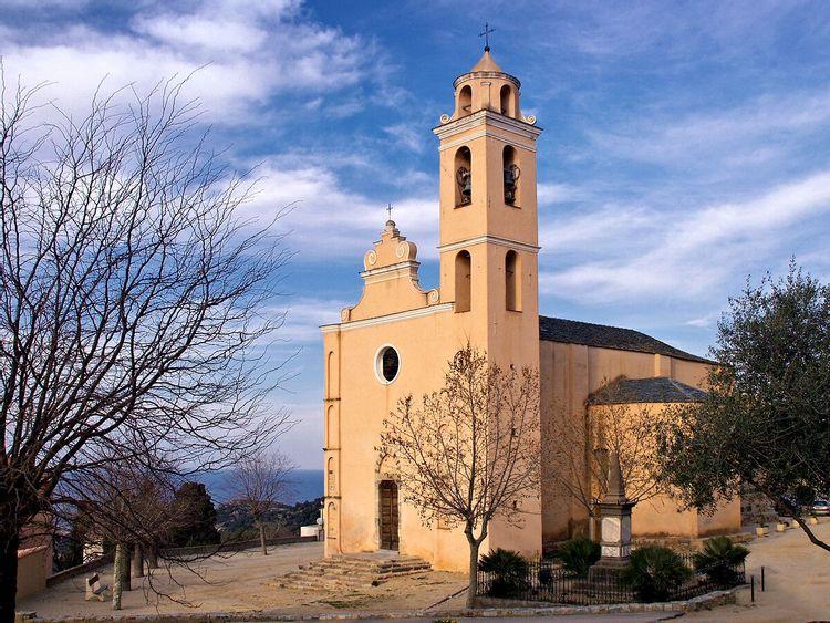 Eglise paroissiale de Santa-Reparata-di-Balagna en Haute-Corse
