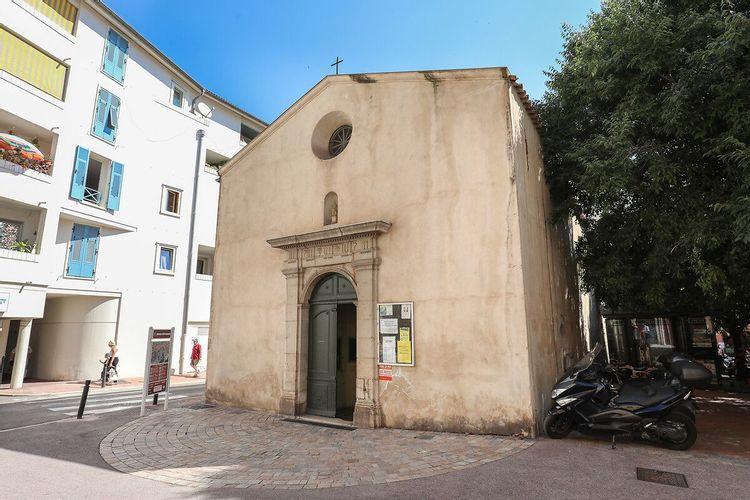 Chapelle de la Miséricorde -Quartier du Suquet à Cannes