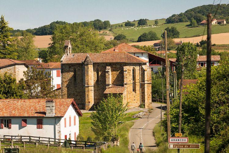 Église Notre-Dame de l 'Assomption à Arancou
