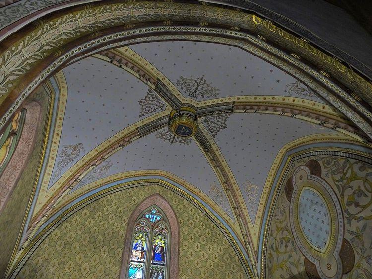 Coupole - église Cazères-sur-l'Adour
