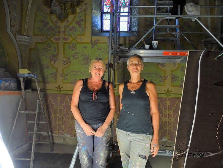 Restauratrices - Eglise Cazères-sur-l'Adour