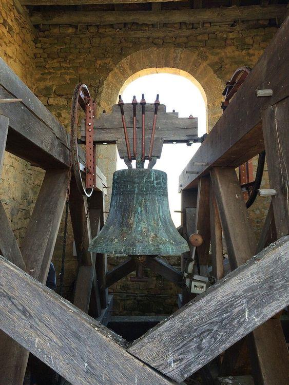 Cloche - église Saint-Cybard