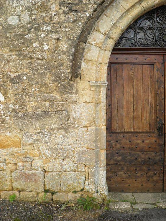 Porte - église Saint-Cybard