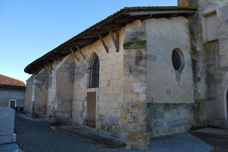 Vue côté église