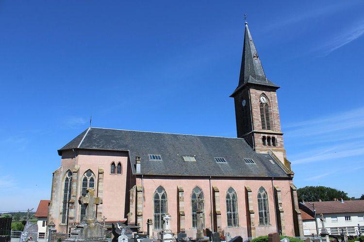 Eglise de Ménil-sur-Belvitte dans les Vosges