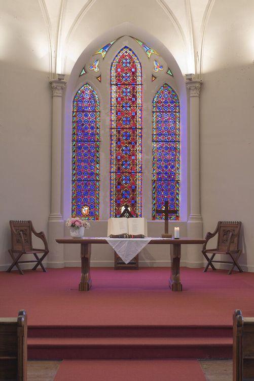 Vue vitraux