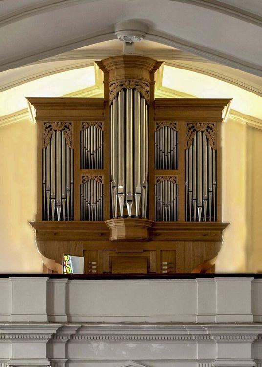 Vue orgue