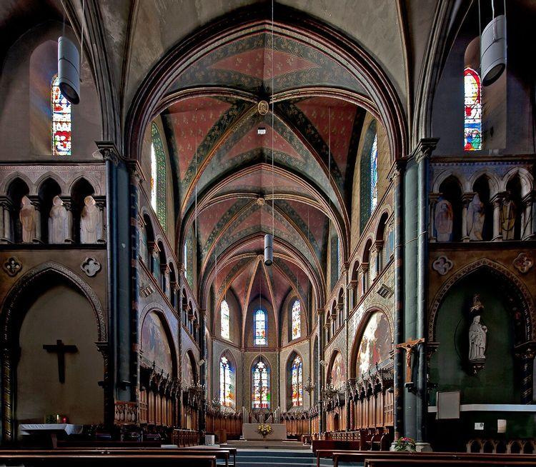 Nef - église Saint-Jacques de Pau