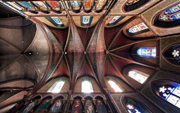 Vue chapelle haut - église Saint-Jacques de Pau