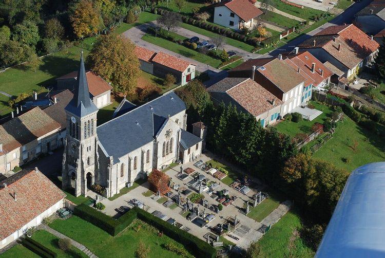 Eglise de Beaulieu-en-Argonne en Meuse