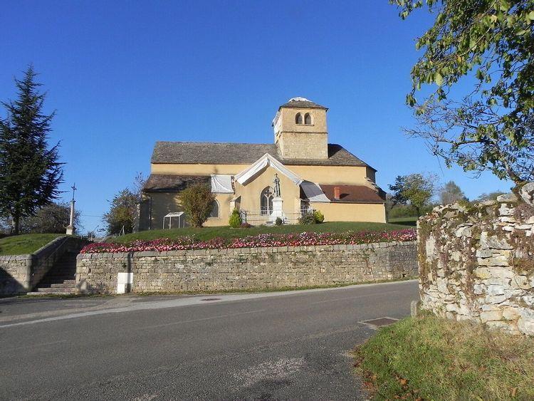eglise saint martin de les trois châteaux