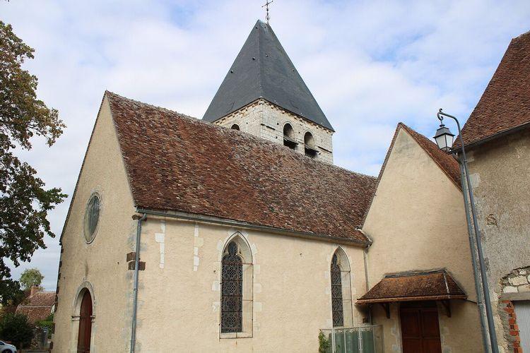 Eglise Saint-Etienne de Sury en Vaux