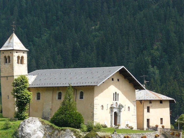 Eglise Saint-Sigismond à Champagny-en-Vanoise