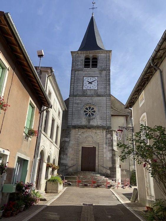Eglise Saint-Rémi de Pagny-sur-Meuse en Meuse
