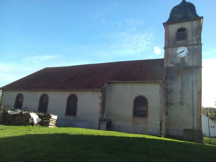 Eglise Saint Barthélémy de Merviller en Meurthe-et-Moselle