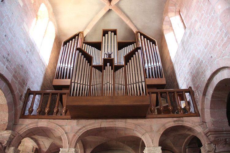 Orgue d'Etival-Clairefontaine dans les Vosges