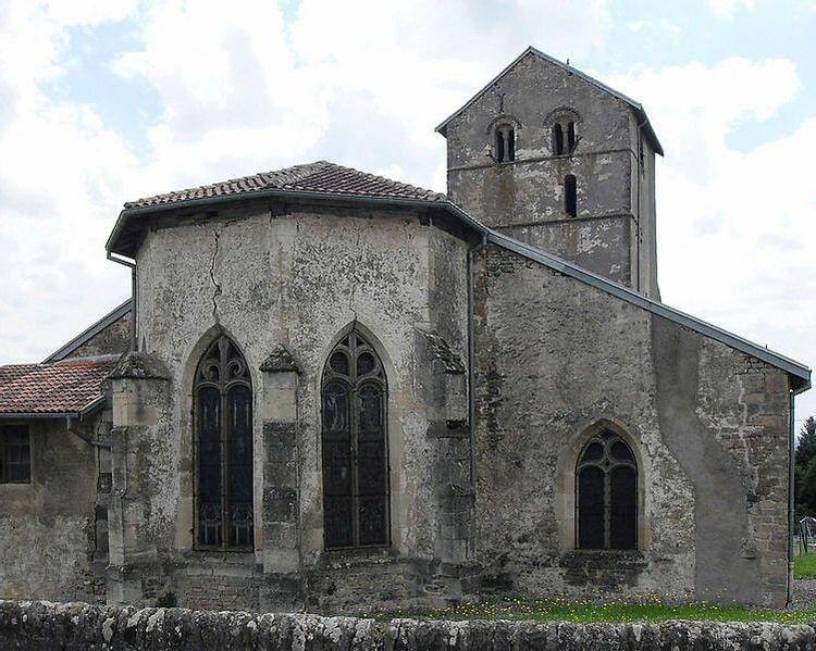 Eglise Saint-Georges de Bouzemont dans les Vosges