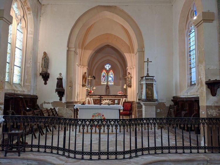 Eglise d'Andilly en Meurthe-et-Moselle