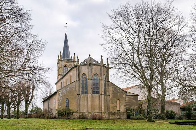 Eglise Saint Martin de Pange en Moselle
