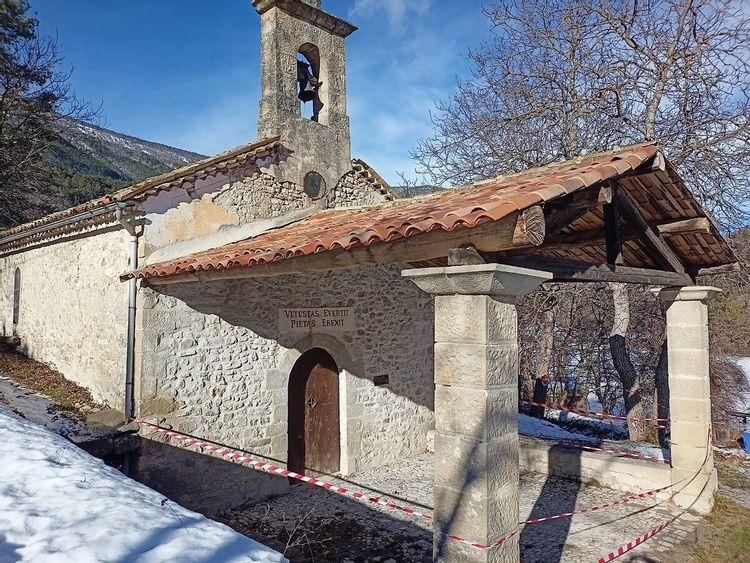 Chapelle de Vérimande à Annot
