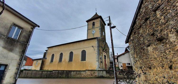 Eglise de Saint-Prancher dans les Vosges