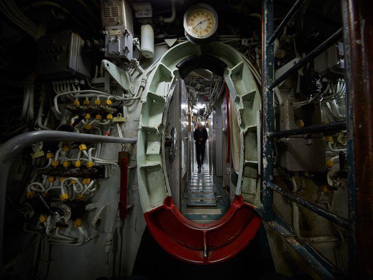 Intérieur du sous-marin