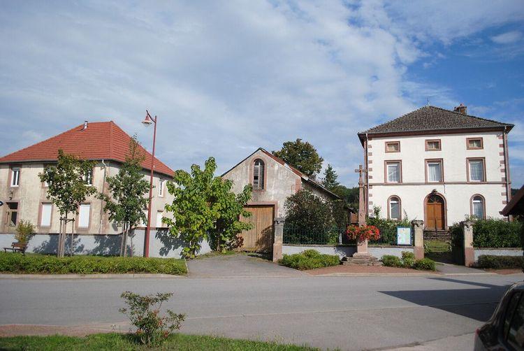 Annexe de la cure à Bertrimoutier dans les Vosges