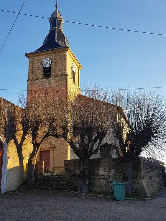 Eglise Saint-Rémy de Mercy-le-Bas en Meurthe-et-Moselle