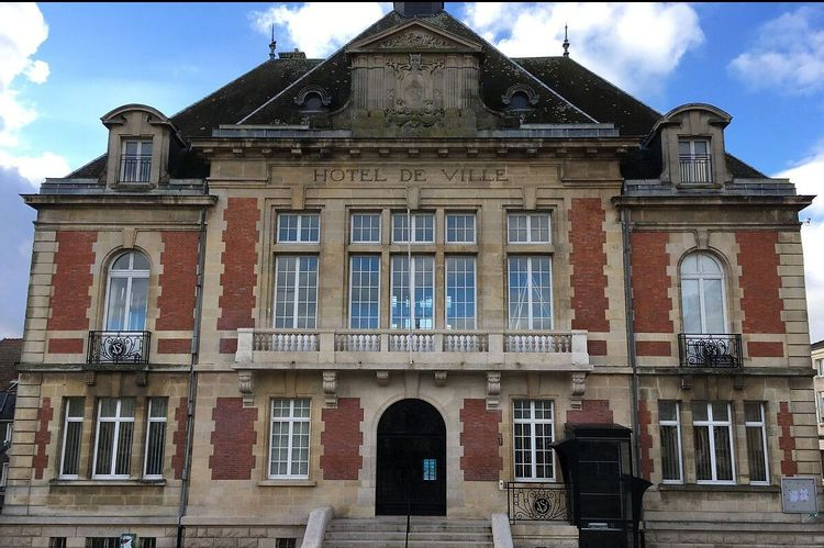Hôtel de Ville de Stenay en Meuse