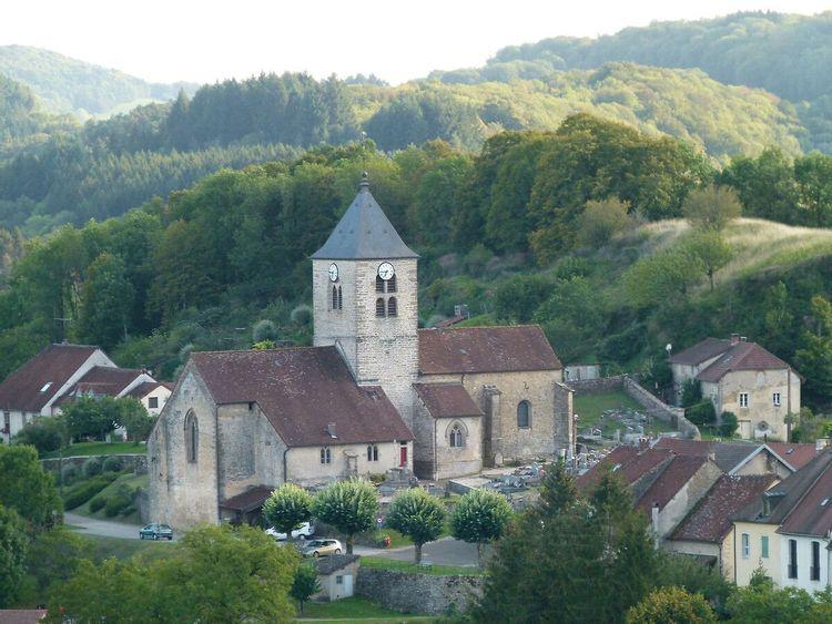 Eglise de Saint-Laurent-la-Roche  à La Chailleuse