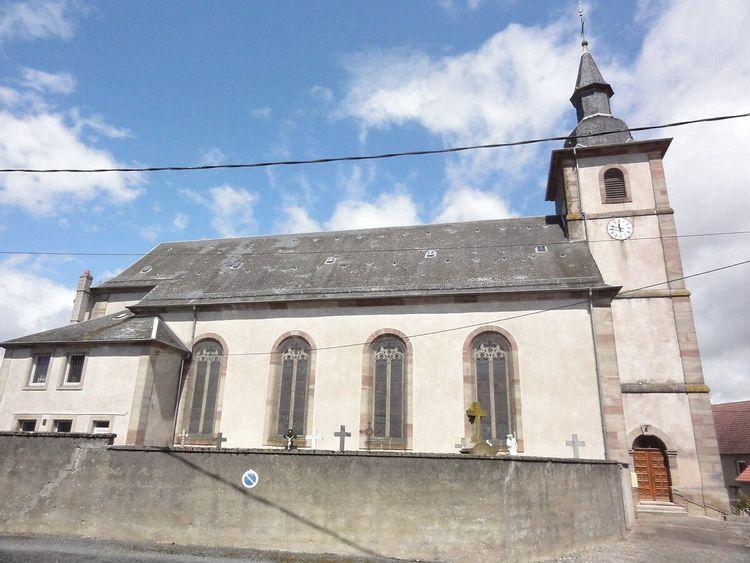 Eglise de Brouviller en Moselle