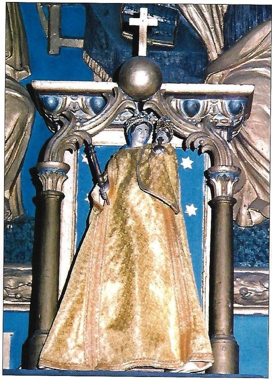 Vierge de l'église Notre-Dame de Lescure de Valuéjols