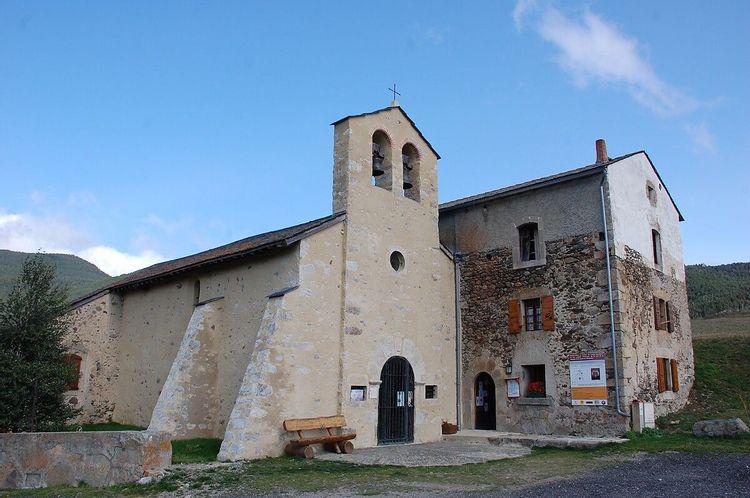 chapelle de villeneuve à formiguères