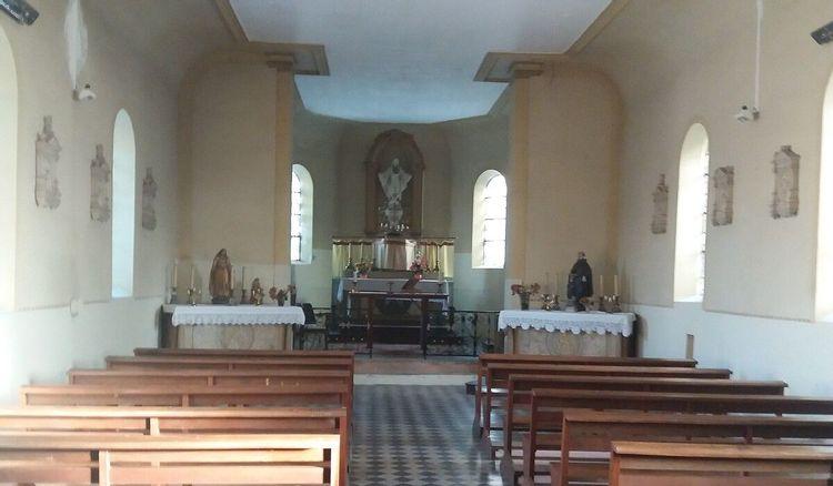Eglise de Buriville en Meurthe-et-Moselle